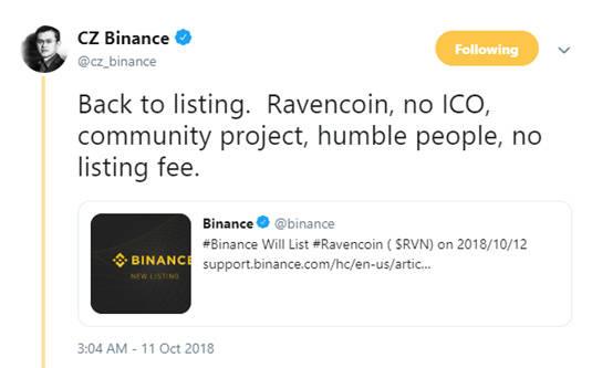 熊市小币关注之独一无二的Ravencoin