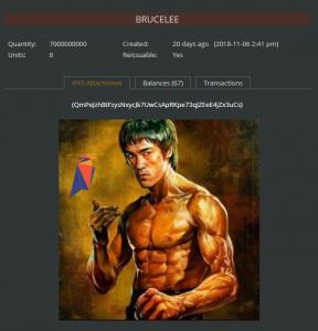 BRUCELEE(李小龙)令牌,免费领取。