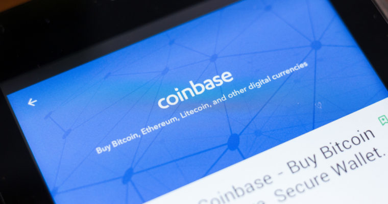 Coinbase加密货币交换