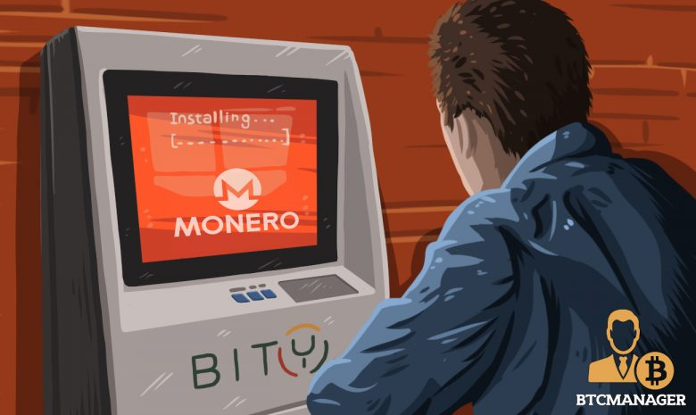 瑞士居民现在可以在Bity-Operated Crypto ATM上购买Monero(XMR)