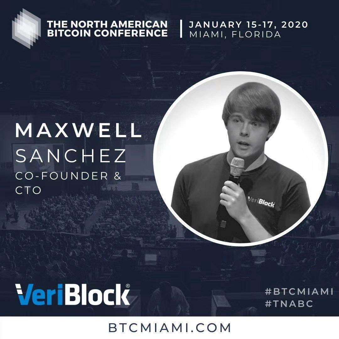 vbk的ceo和cto将在1月中旬迈阿密举行的北美区块链大会上演讲